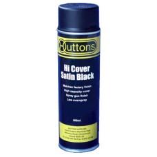 Hi Cover Satin Black 500 ml
